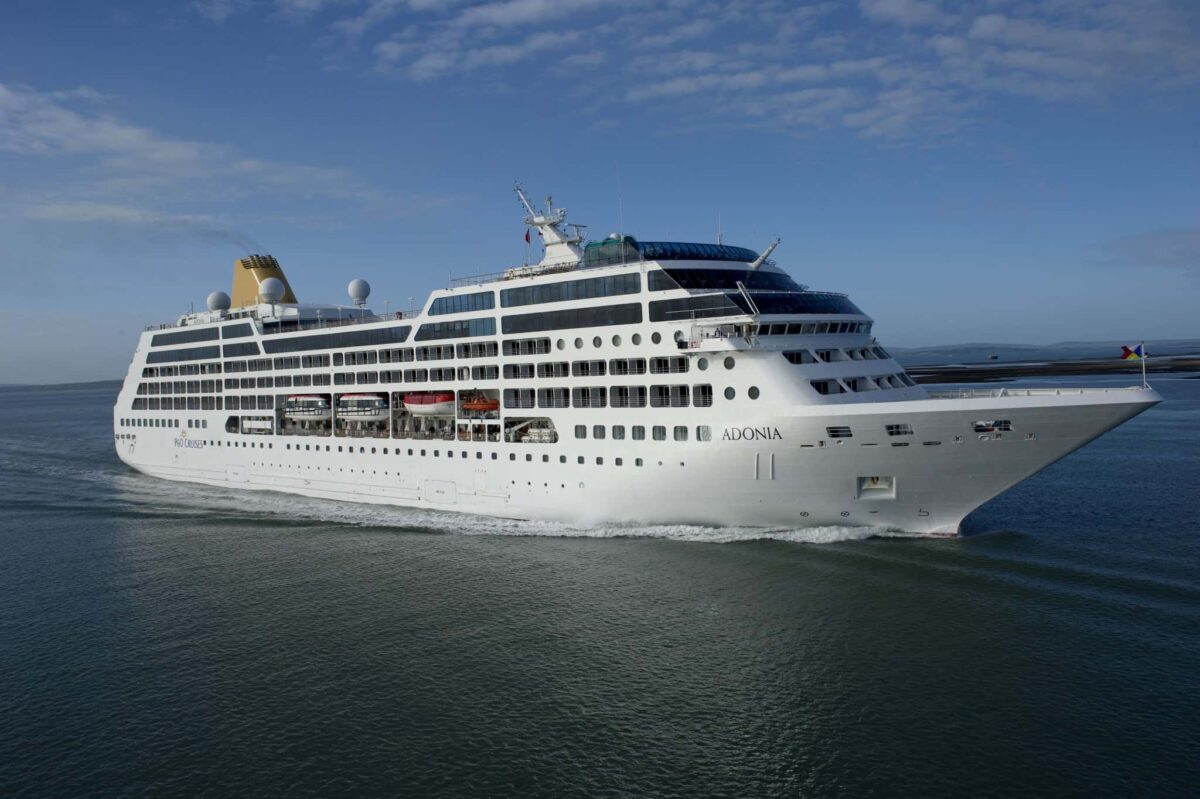 P&O Cruises Adonia