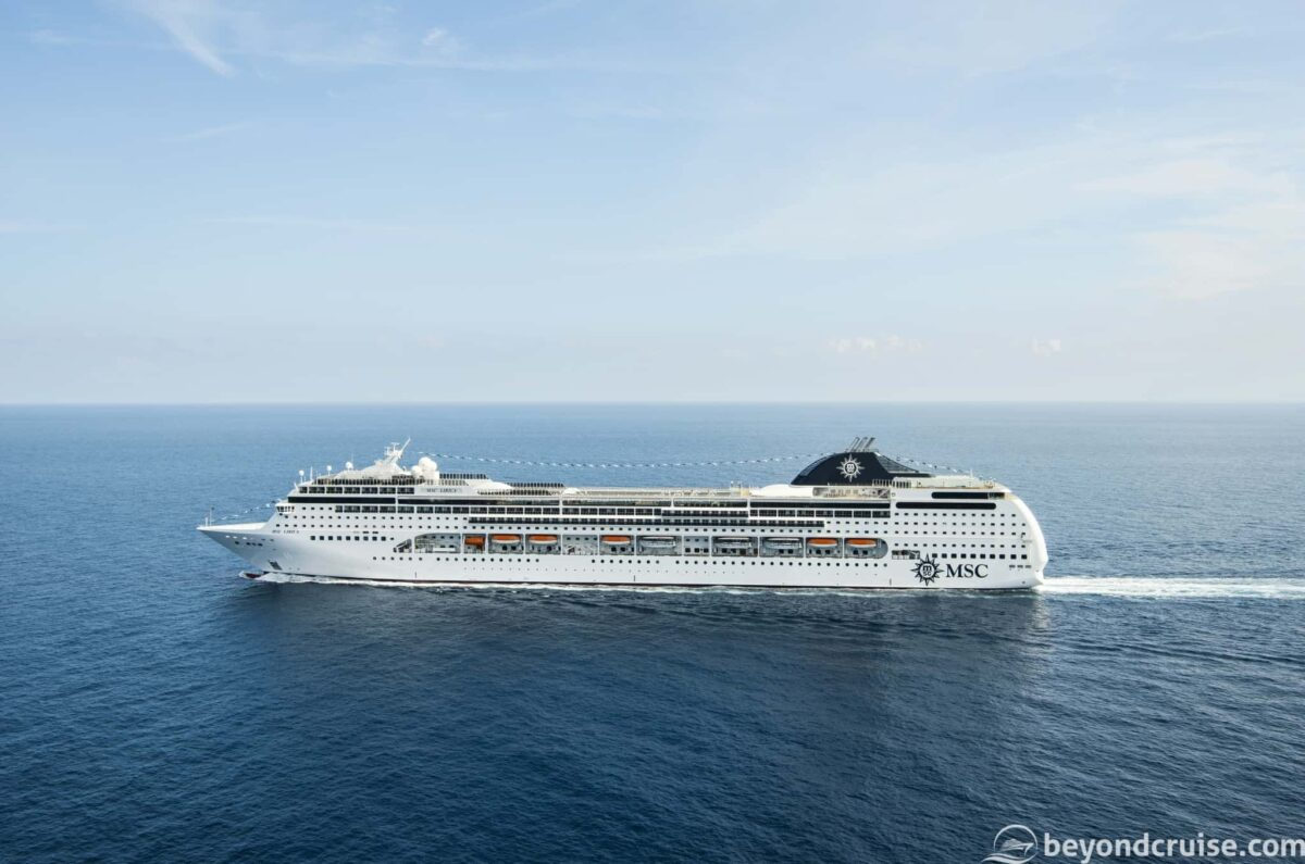 MSC Cruises' MSC Lirica