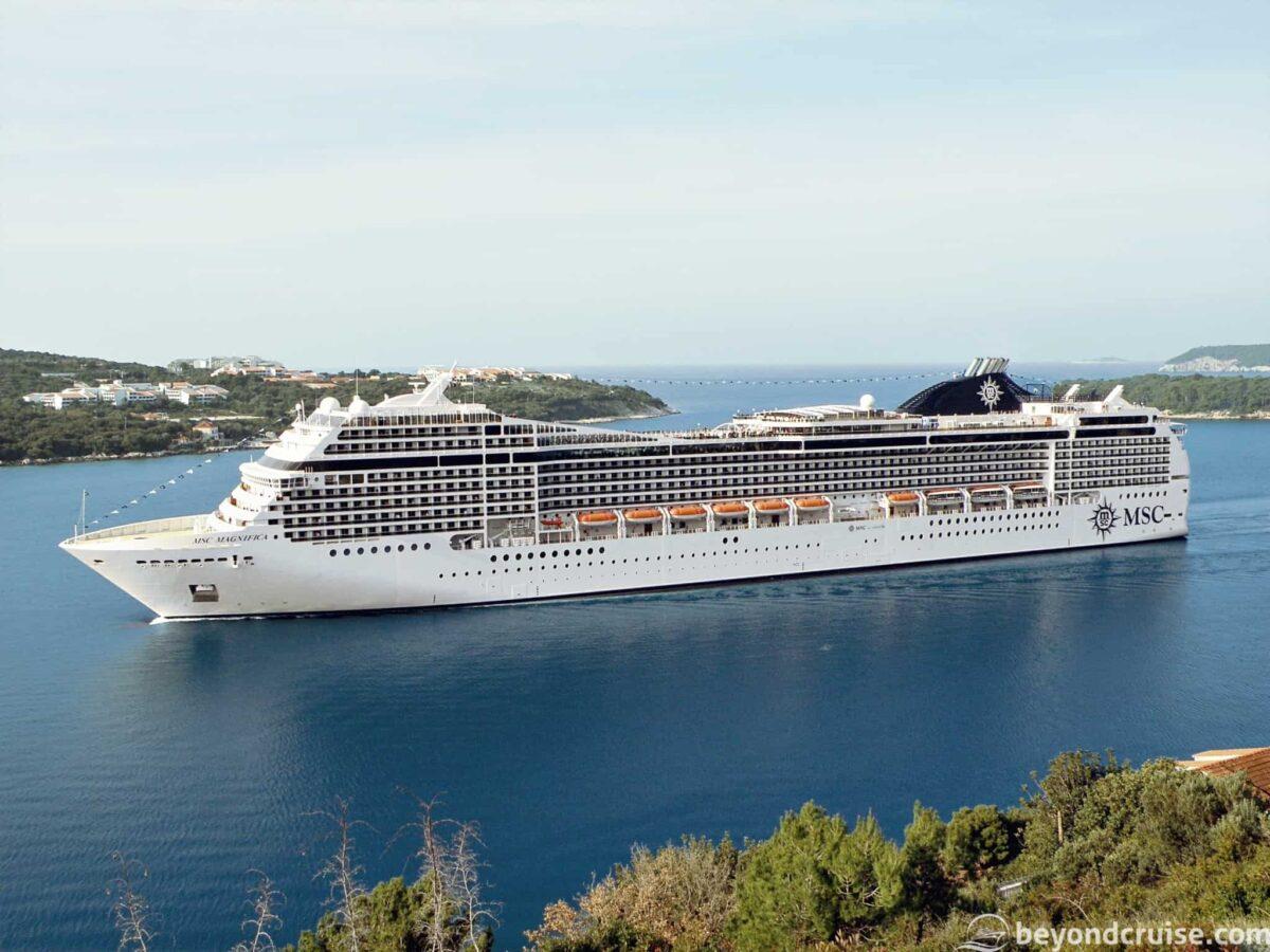 MSC Cruises' MSC Magnifica