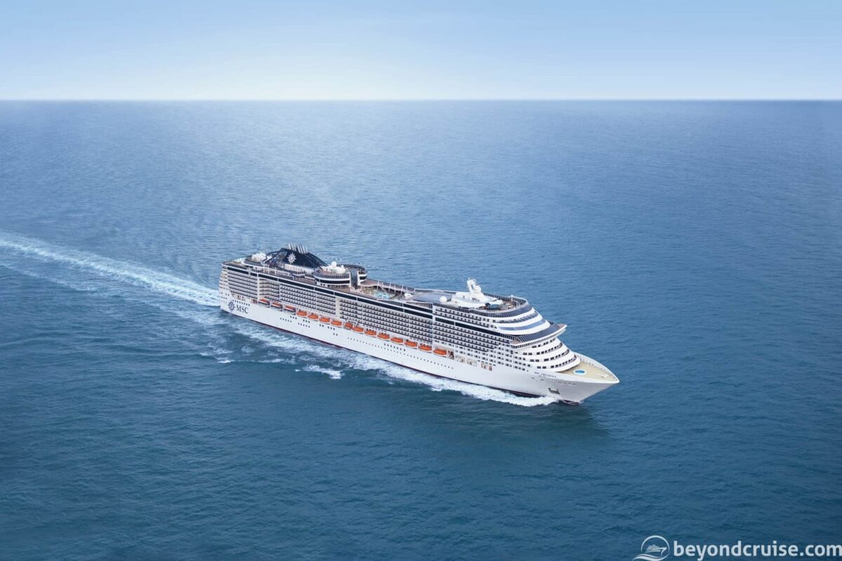 MSC Cruises' MSC Preziosa