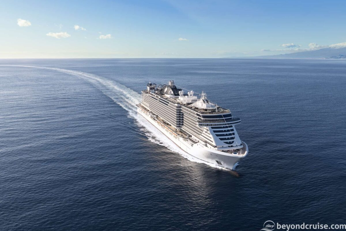 MSC Cruises' MSC Seaside