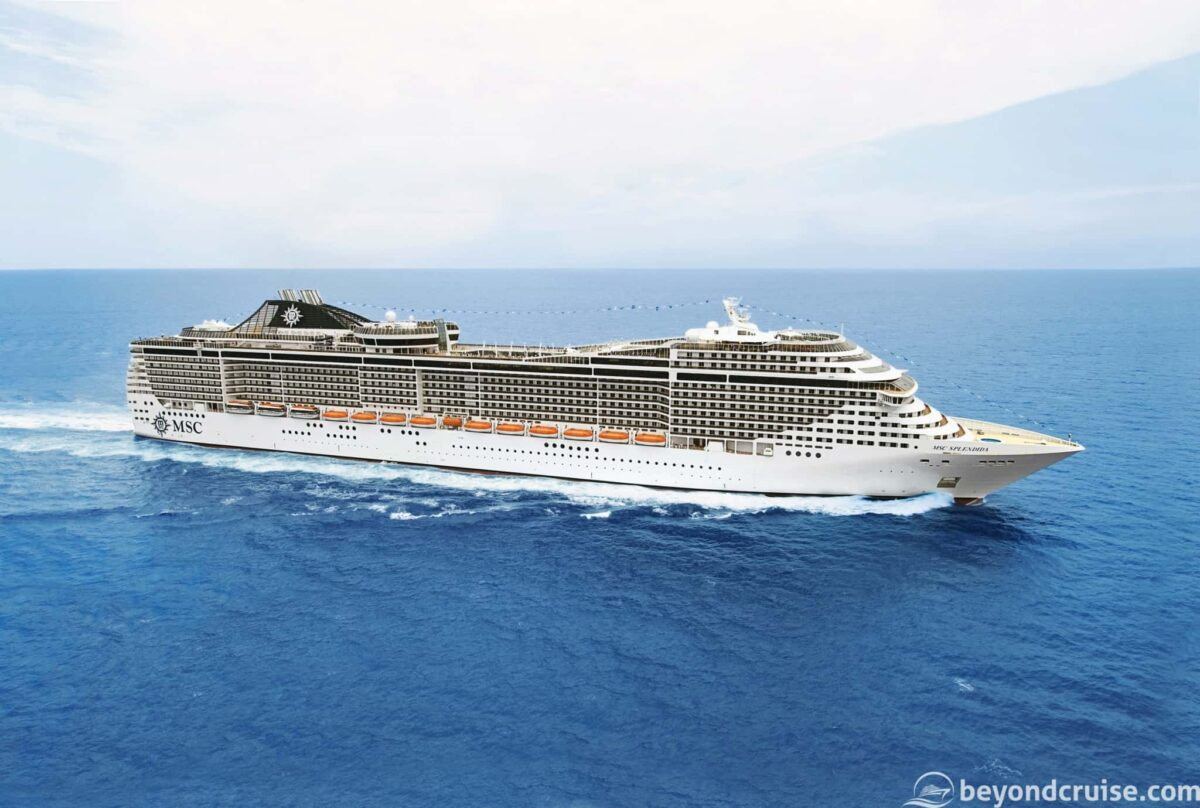 MSC Cruises' MSC Splendida