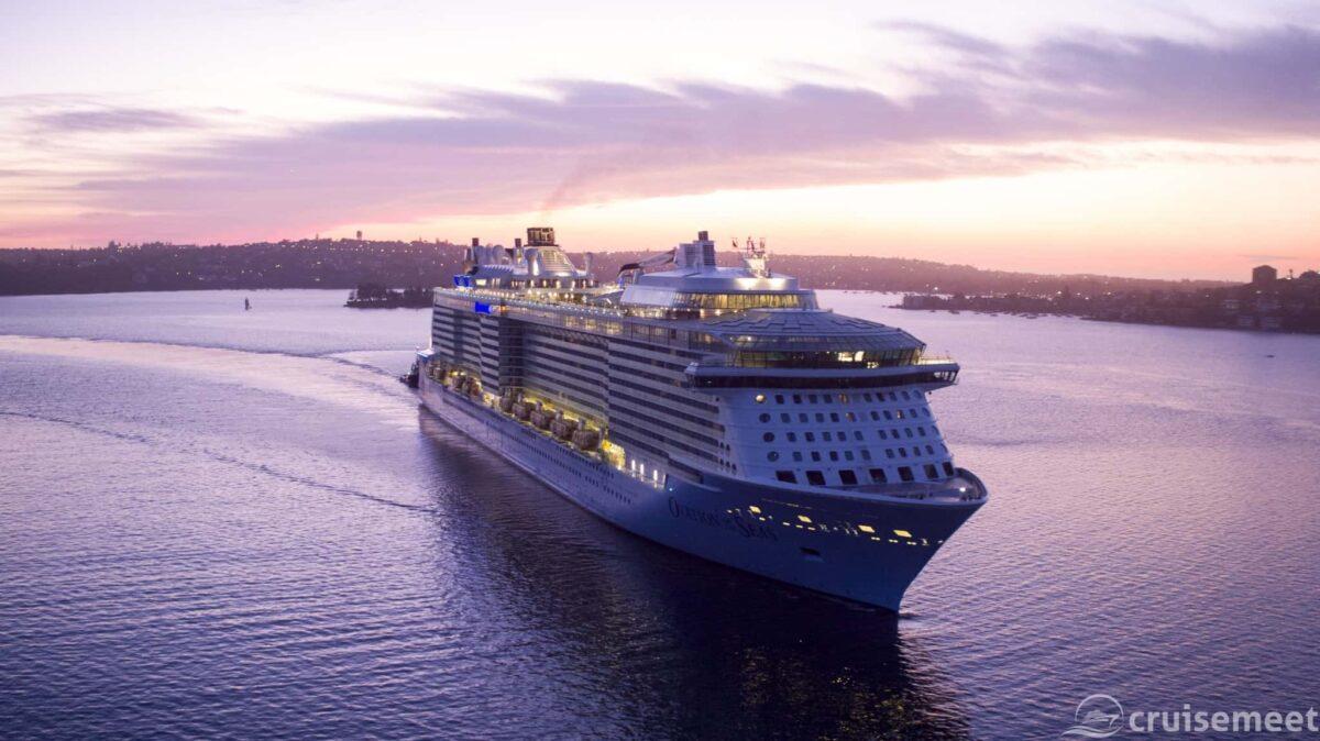 Ovation of the Seas in Sydney, Australia
