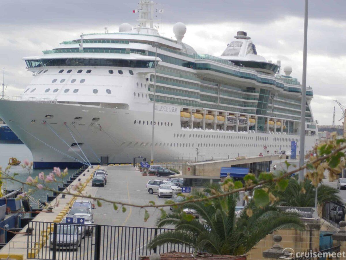Brilliance of the Seas in Valetta, Malta