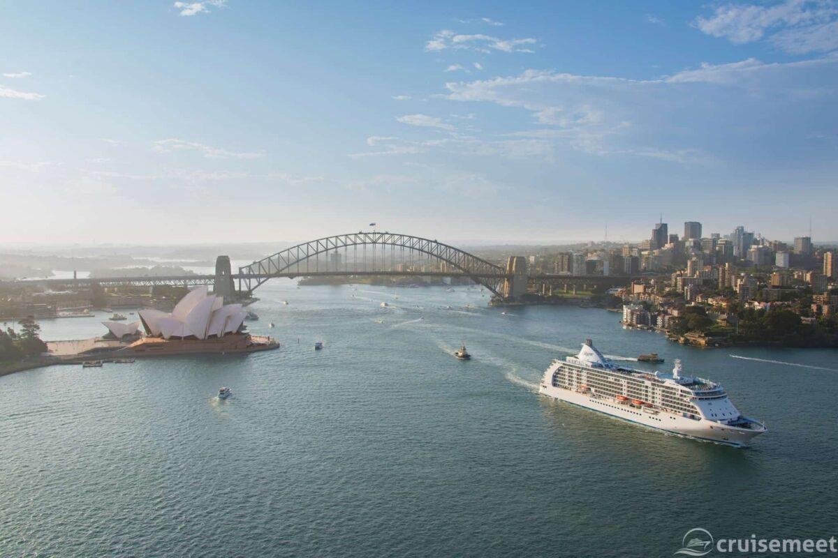 Regent Seven Seas Cruises Voyager in Sydney